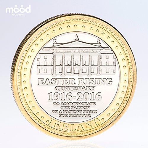 Irish Easter Rising 1916 Gedenkmünzen Münze, limitierte Ausgabe, mit Geschenkbox -