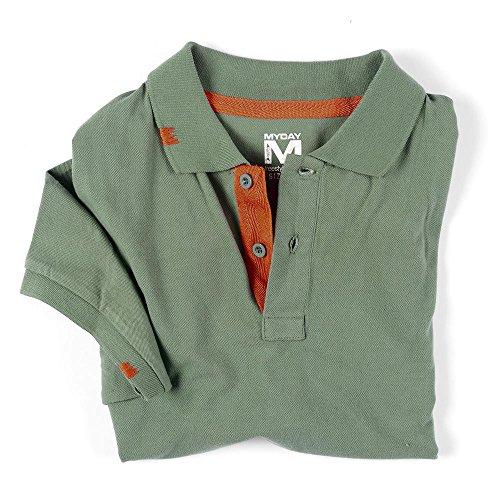 """Sportives Polo """"Rio""""/NEU/Polo-Shirt/MYDAY/trendy Grün"""