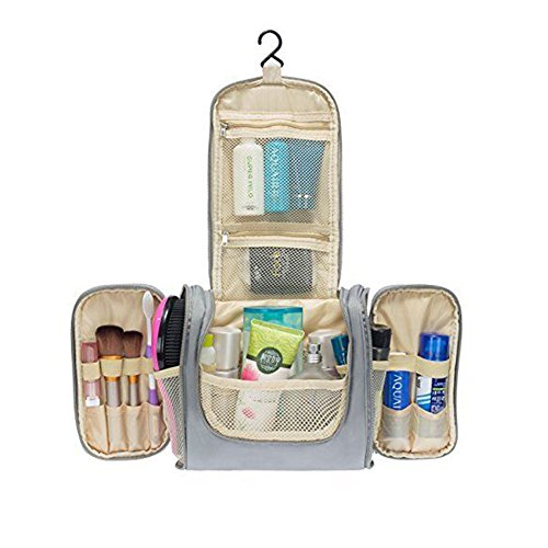 4837380fe1db Colleer Multifunctional Travel Toiletry Bag Large Makeup Organiser  Waterproof Shower Wash Bag Cosmetic Case Household Grooming Kit Storage  Travel Kit ...