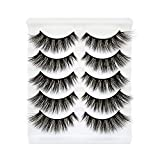 Bepholan Strip Eyelashes 3D Mink Lashes Faux Mink Lashes False Eyelashes Long Thick