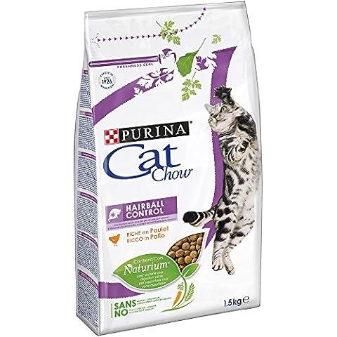PURINA Cat Chow Hairball Alimenti Gatto Secco F.Media
