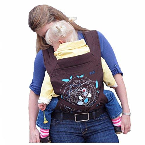 Vine Alta Calidad Fular Portabebés Diseños de Bordado Portador de Bebé Anverso o Cadera Llevan Menos Esfuerzo Algodón Baby Wrap Infantil Mochilas Portabebé Recién Nacido Las Correas Suaves Para Niños Pequeños