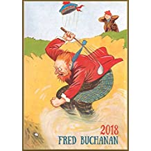 Wandkalender 2018 [12 seiten 20x30cm] Funny Golf in Scotland by Fred Buachan Vintage Cartoon [Calendar]