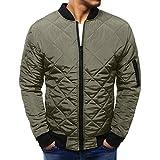 Abrigo de Invierno para Hombre Cálido Slim Fit Grueso Chaqueta Informal  Prendas de Abrigo Top Blusa bceee8690a5