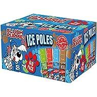60 x 80ml Original Slush Puppie Ice Poles / Lollies for Kids, Party, Events, Summer