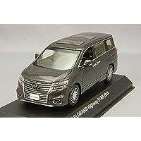 Kyosho 1/43 Nissan Elgrand Highway Star 2014 de color gris KS03881MGR
