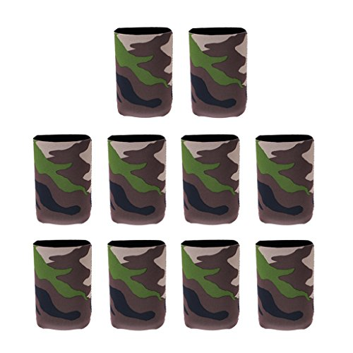 perfk Neopren Bierkühler Dosenkühler Getränkekühle Cup Set Wasserkocher Set Faltbarer Bierkühler Bier trinken Isolatoren Getränkehalter Dosenisolator Für Bier Cola -