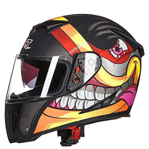 Doppelvisier Full Face Motorradhelm Anti Fog Winter Warme Motorradhelme Moto Motocross Racing Sicherheitskappen