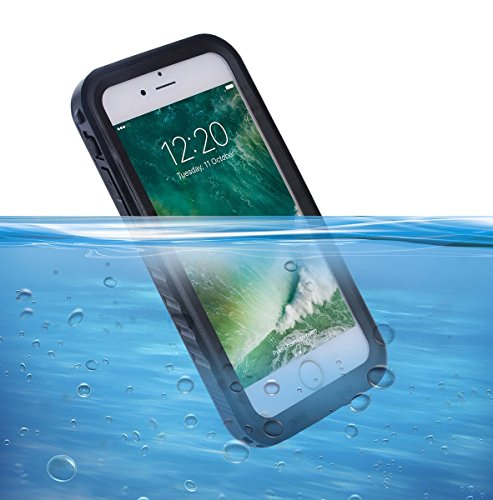 Custodia Impermeabile per iPhone X, SPORTLINK IP68 Certificato Waterproof Cover Slim Antiurto Antineve Antipolvere Antigraffio Subacquea Caso Full Protezione Case Protettiva per Apple iPhone X(5.8 in) per iPhone 7 Plus/ 8 Plus