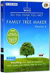 Who Do You Think You Are Family Tree Maker Version 4 Pc