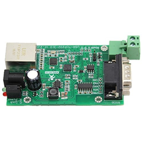 USR-TCP232-310-PCB Seriell RS232 RS485 auf Ethernet TCP / IP-Adapter-Ethernet-Konverter-Modul DHCP / DNS TCP232-24 Upgraded