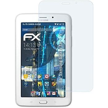 atFolix Schutzfolie kompatibel mit Samsung Galaxy TabPro S Folie 2X ultraklare FX Displayschutzfolie
