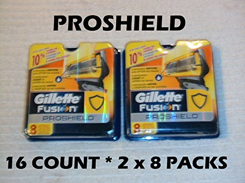 Gillette Proshield - 16 Count ( 2 x 8 Packs)