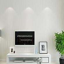 ufengke Simple Moderno Grueso Color Puro No Tejido Rayas Papel Pintado Mural Para Dormitorio Sala de Estar
