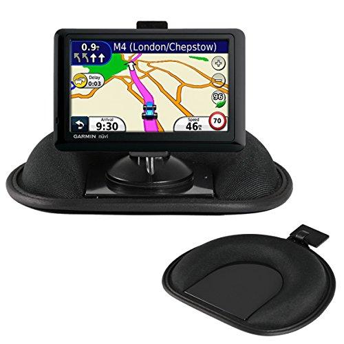 Navitech Dashboard-Friction Mount and Saughalterung mit GPS-Clip kompatibel mit dem den Garmin Nuvi 2457/2457LM/ 2457LMT/ 2497/ 2497LM/ 2497LMT/ 2557/ 2557LM/ 2557LMT/ 2577/ 2577LT/ 2558/ 2558LM/ 2558LMT/ 2558LMTHD/ 42/ 42LM/ 44/ 44LM/ 56/ 56LM/ 56LMT/ 55/ 55LM/ 55LMT/ 52/ 52LM/ 54/ 54LM (Garmin Gps 52lm)