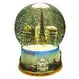 Ricordi di Francia–Palla di neve Vetro Parigi Monumenti, Vetro, 10 cm