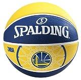 Spalding Ball NBA Team golden State 83-304Z, gelb/blau, 7, 3001529019817