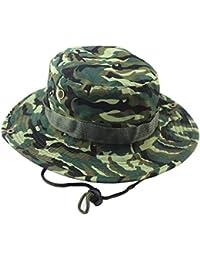 Unisex Adulto Ejército Sombrero De Sombrero Camuflaje Bush Sombrero  Modernas Casual Para El Sol Gorra De c9c2d6fcbbeb