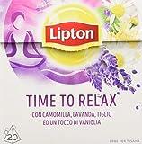 Lipton Tisana Time to Relax - 20 Filtri