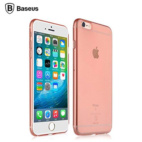 BASEUS Chaumet Slim PC Hard Cover Retour Case pour Apple iPhone 6 Plus 6S Plus 5,5 pouces or rose