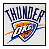 Oklahoma City Thunder Logo Embroidered Iron Patches