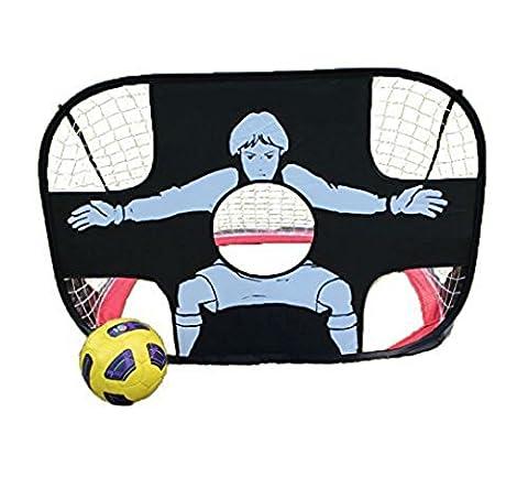 PowerLead Portable Folding Goal Set de porte de football Ensemble de football en plein air Jouet Football Porte pour enfants