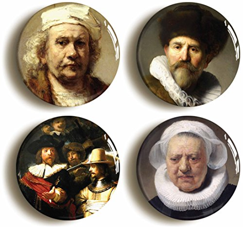 rembrandt-badge-button-pin-set-size-is-1inch-25mm-diameter-art-dutch-master