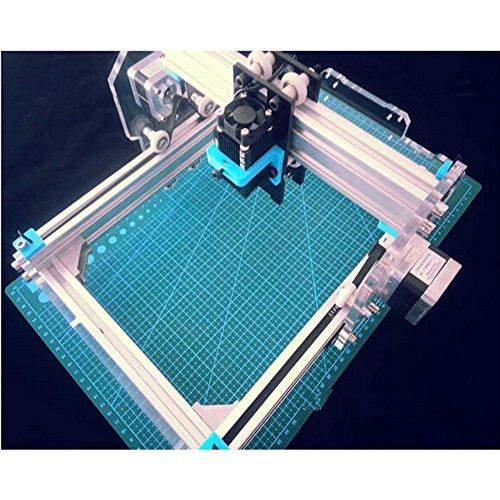 Preisvergleich Produktbild 500MW-2 Desktop DIY CNC Laser Gravierer Engraver Gravur Gravieren Schnitzen Schneiden Maschine Graviermaschine Drucker Laserdrucker