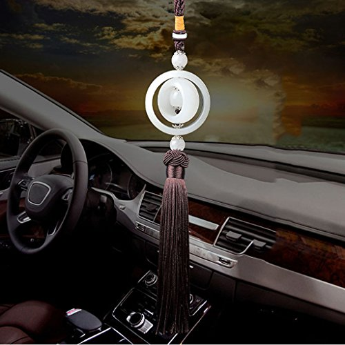 Accessori auto Car Car Car Ornaments Pendenti Ornamenti gioielli maschili Accessori auto di alta qualità ( Color : Brown )