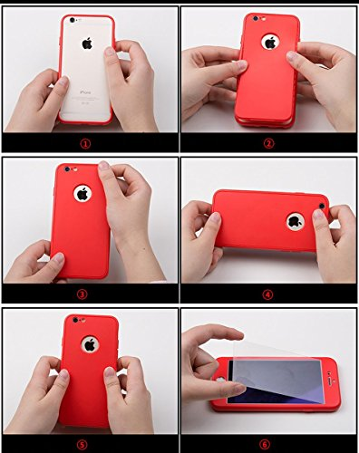 iPhone 6S Hülle,iPhone 6 Hülle,SainCat TPU Silikon Hülle [Liquid Crystal],Transparent und Kristallklar Plating Schutzhülle [Crystal Clear] Soft Flex Handyhülle mit Bär Fingerhalterung Ständer Ring Hol 360 Grad-Gold