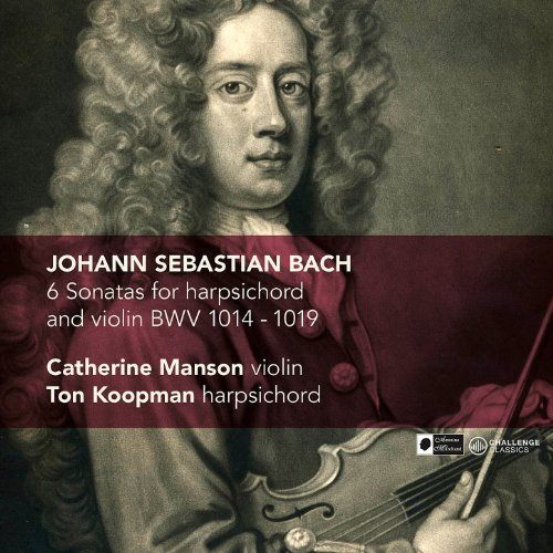 J.S. Bach: 6 Sonatas for harpsichord and violin BWV 1014-1019