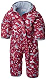 Columbia Schneeanzug für Kinder, Snuggly Bunny Bunting, Polyester, rot (cactus pink deers/faded sky), Gr. 12/18 Monate, 1516331