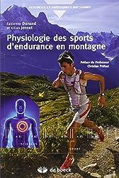 Physiologie des sports d'endurance en montagne