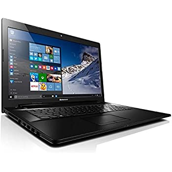 "[Ancien Modèle] Lenovo G70-80 Ordinateur portable 17"" HD+ Noir (Intel Core i3, 4 Go de RAM, disque dur 1 To, Nvidia Geforce 920M, Windows 10)"