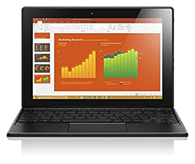 Lenovo Ideapad Miix 310 10-1-inch 2-in-1 Laptop (Atom x5-z8350/2GB/32GB/Windows 10 Home/Integrated Graphics), Black