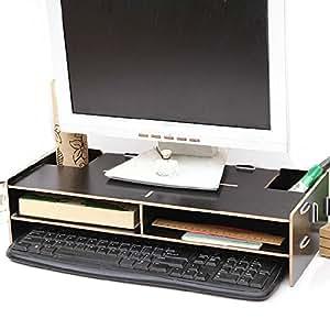 buwico respectueux de l 39 environnement ordinateur de bureau support moniteur support d coratifs. Black Bedroom Furniture Sets. Home Design Ideas