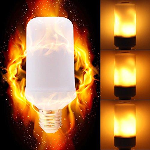 LED Corn Light E27 E26 E14 2835 LED Flamme Effekt Feuer Glühbirnen Kreative Lichter Flackern Emulation Vintage Atmosphäre Dekorative Lampe,5PCS,E27