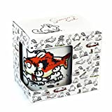 Simon´s Cat Kaffeetasse Katze mit Fisch NEUER Becher in Geschenkverpackung FW - 2