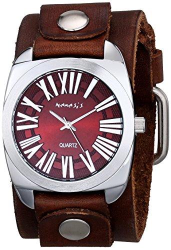 Nemesis 098BFBNB - Reloj de pulsera hombre, piel, color Marrón