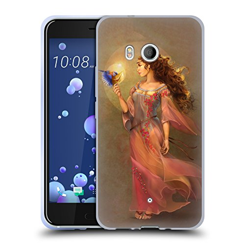 Offizielle Renee Biertempfel Botschafter Jungfrau Soft Gel Hülle für HTC U11 / Dual