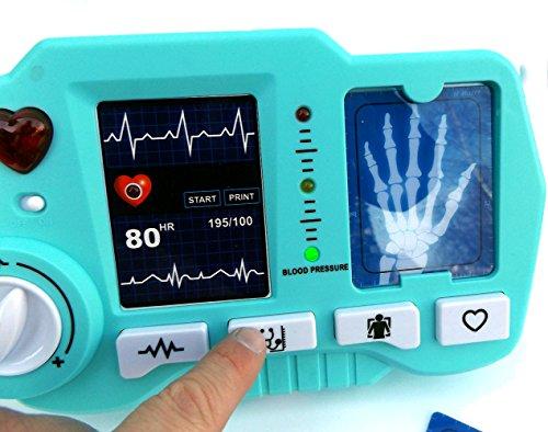⛑ Spielzeug EKG – und Röntgen Gerät mit realistischer Funktion- darf in keinem Spielzeug Arztkoffer fehlen ⛑ - 6
