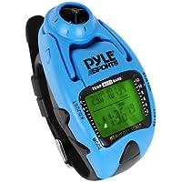 Pyle Yacht Timer Anemómetro Deportivo Multifuncional, Unisex, Azul