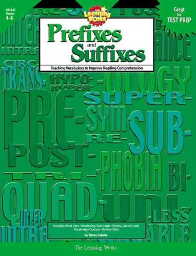 Prefixes and Suffixes: Teaching Vocabulary to Improve Reading Comprehension
