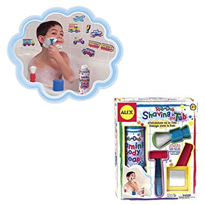 Cuckoo ALEX Toys Rub a Dub Shaving in the Tub