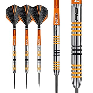 Red Dragon Amberjack 3: 22g Tungsten Darts Set mit Flights und Schäfte