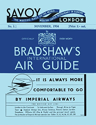 Bradshaw's International Air Guide, 1934 por George Bradshaw