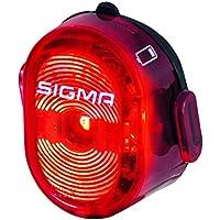 Sigma 49584 Faro Delantero, Rojo, Talla Única