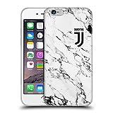 Head Case Designs Offizielle Juventus Football Club Weiss 2017/18 Marmor Soft Gel Huelle kompatibel mit iPhone 6 / iPhone 6s
