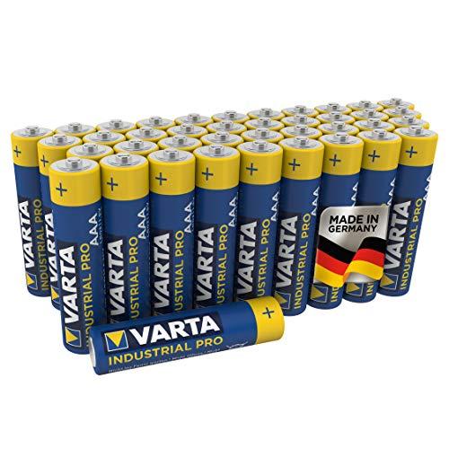 VARTA Industrial Batterie AAA Micro Alkaline Batterien LR03, 40er pack