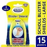 Scholl grande punta Blister intonaco, confezione da 3